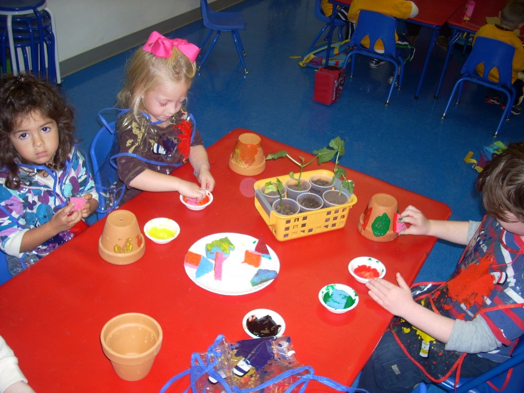 Preschool Art Classes at Ready Set Grow